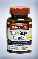 NatureStar MEMORY SUPPORT COMPLEX WITH DHA, EPA AND PHOSPHATIDYLSERINE
